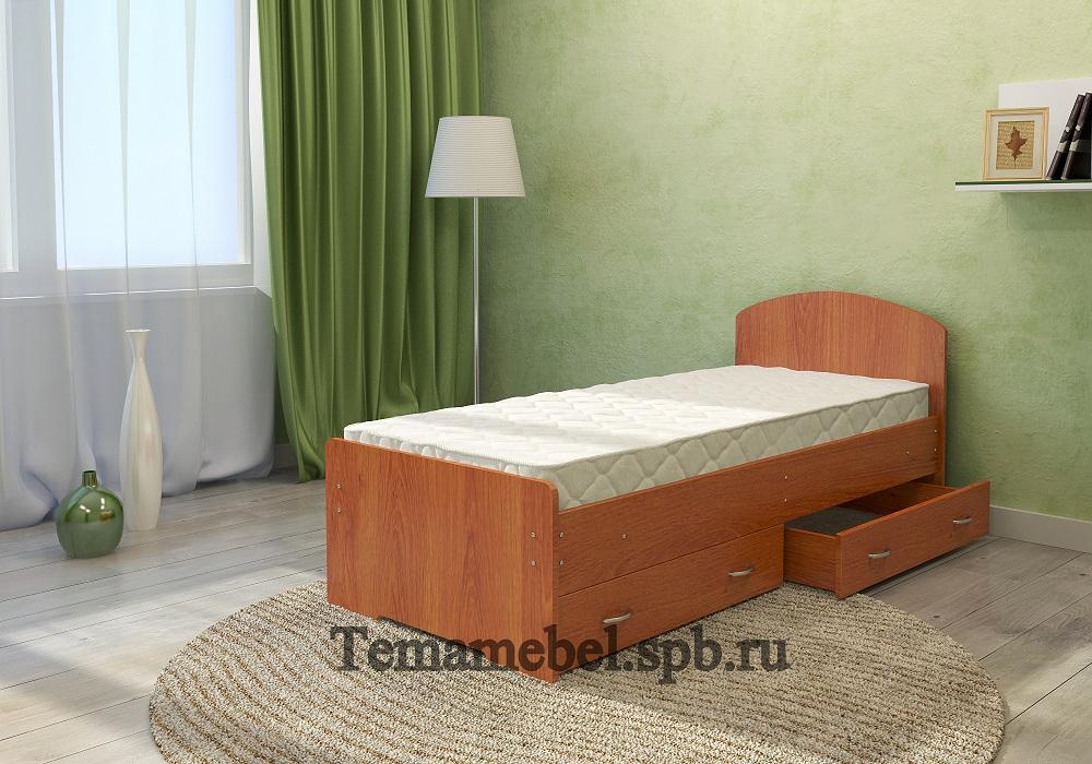 Кровать с ящиками  от производителя