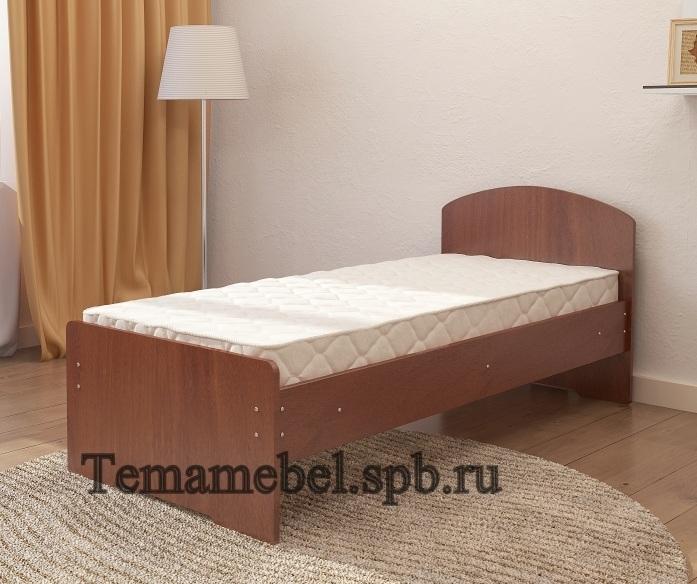 Кровать односпальная с матрасом   спб