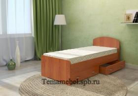 Кровать односпальную с матрасом
